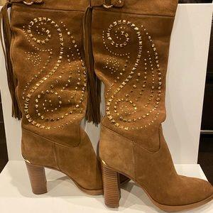 Michael Kors Knee Height Studded Boots